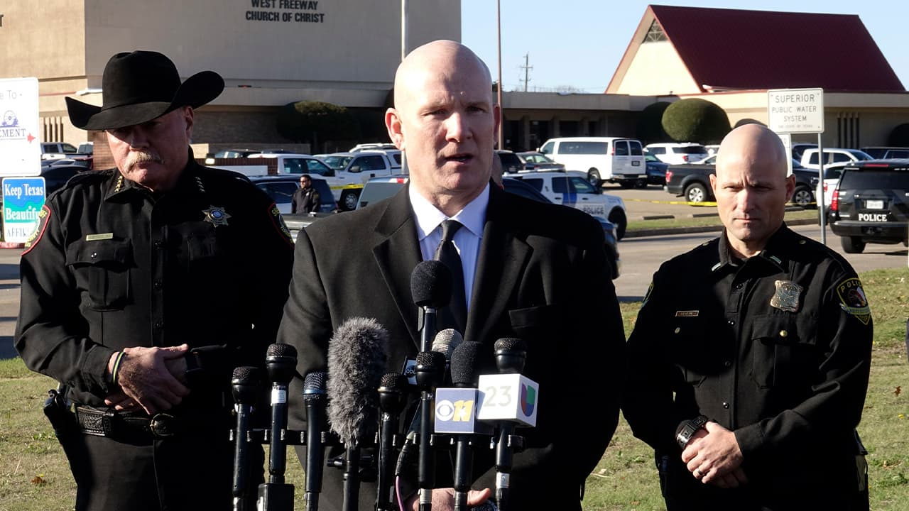 Photo of Texas Department of Public Safety regional director Jeff Williams