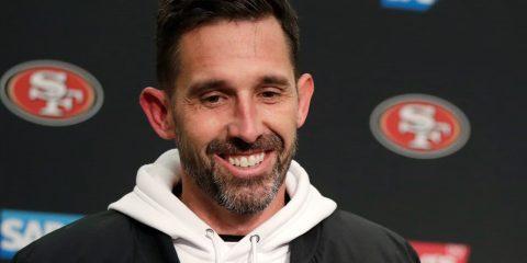 Photo of head coach Kyle Shanahan