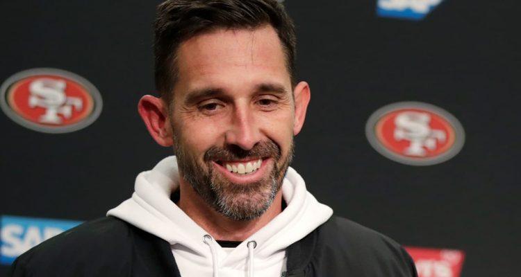 Photo of head coach Kyle Shanahan