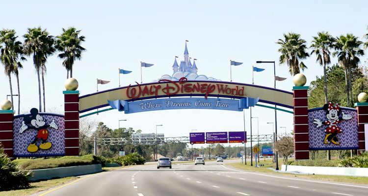 Photo of the entrance to Walt Disney World