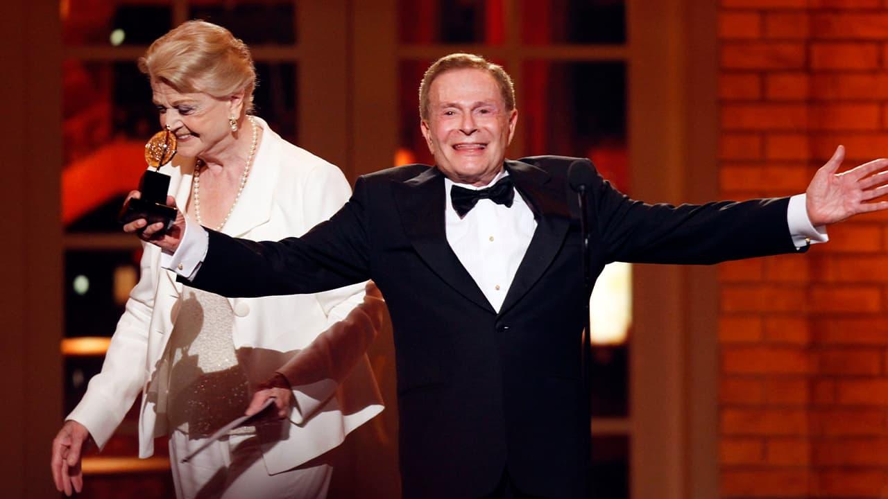 Photo of Jerry Herman accepting his Tony Award