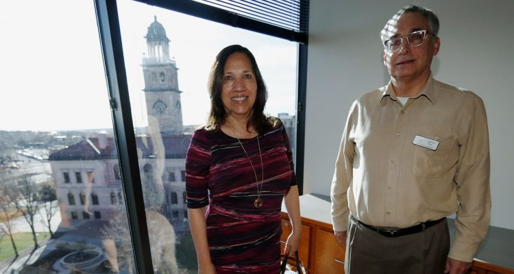 Photo of Colorado Springs, Colo., council members Yolanda Avila and Andres Pico