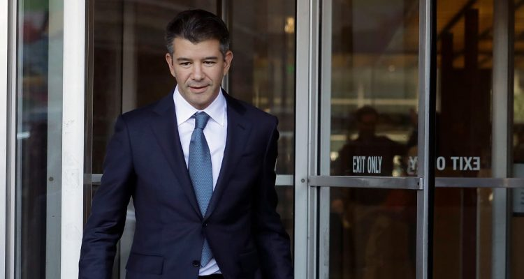 Photo of former Uber CEO Travis Kalanick