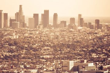 Photo of Los Angeles skyline
