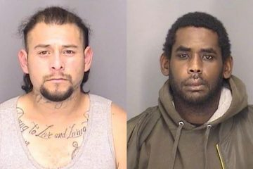Photo of Javier Delgadillo-Munoz (left) and Paul DeMarcus Glenn (right)