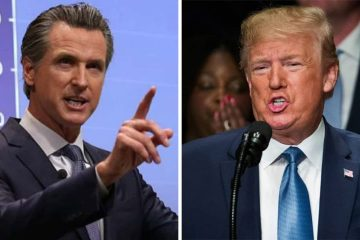 Photos of Gavin Newsom and Donald Trumpsite