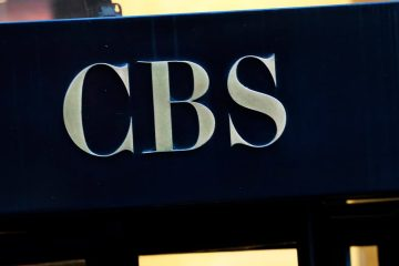 Photo of the CBS logo