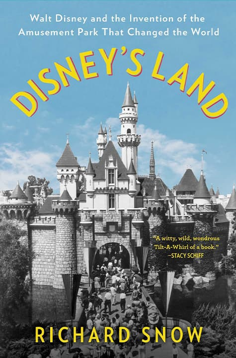 "Photo of the cover of ""Disney's Land"""