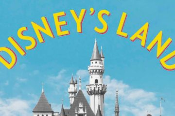 "Photo of a cropped area of the cover of ""Disney's Land"""