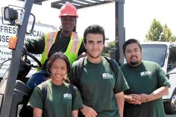 Photo of Fresno Conservation Corps workers