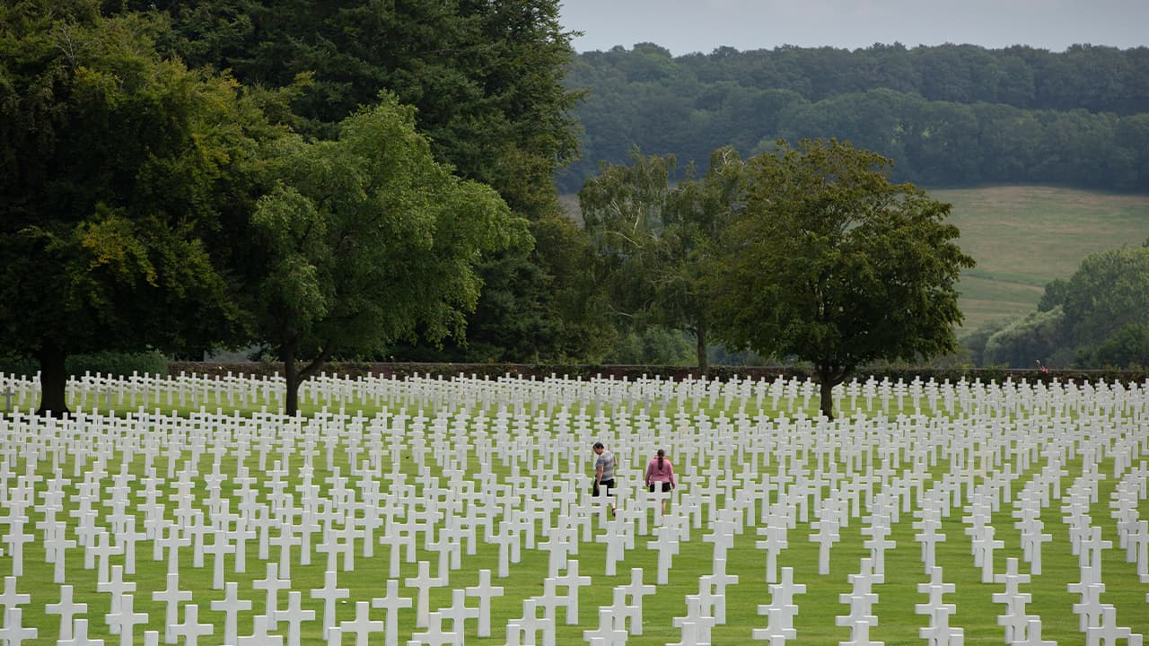 Photo of the Henri Chapelle World War II cemetery
