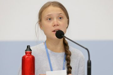 Photo of climate activist Greta Thunberg