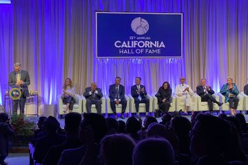 Photo of California Hall of Fame inductees