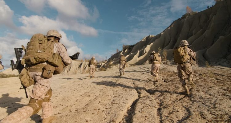 Photo of soldiers in Afghanistan