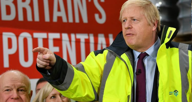 Photo of Britain's Prime Minister Boris Johnson