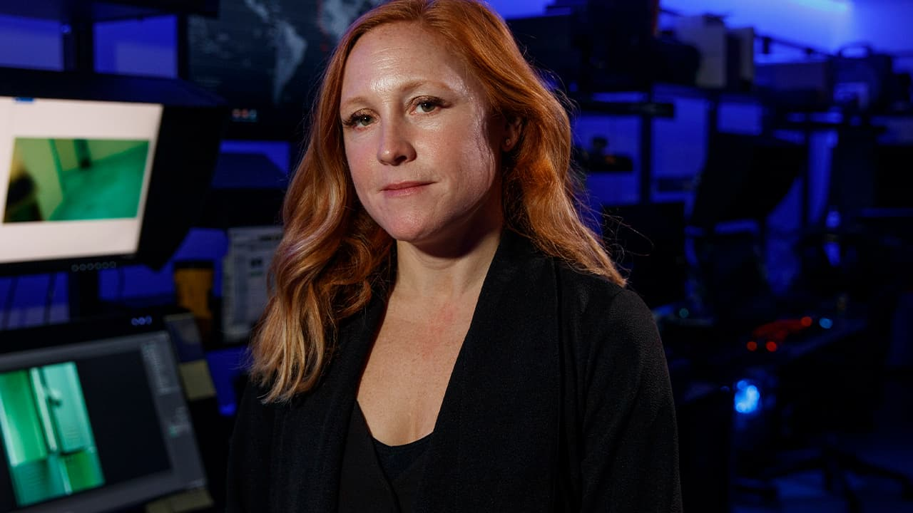 Photo of Erin Burke, Section Chief of the Child Exploitation Investigations Unit at Homeland Security