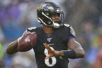 Photo of Baltimore Ravens quarterback Lamar Jackson