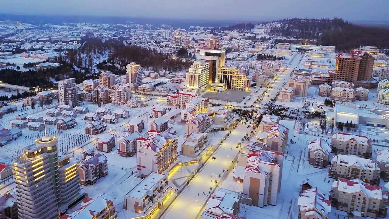 Photo of Samjiyon city
