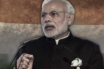 Photo illustration of Prime Minister Narendra Modi