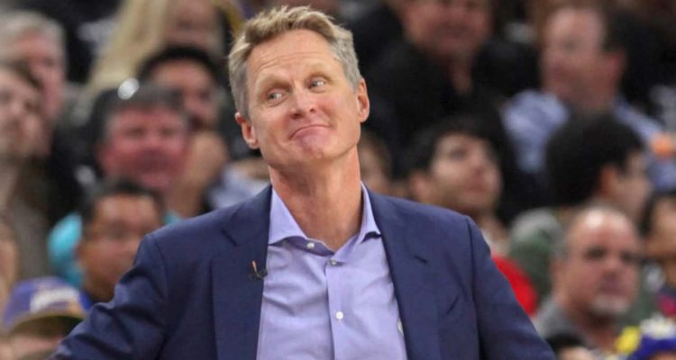 Photo of coach Steve Kerr