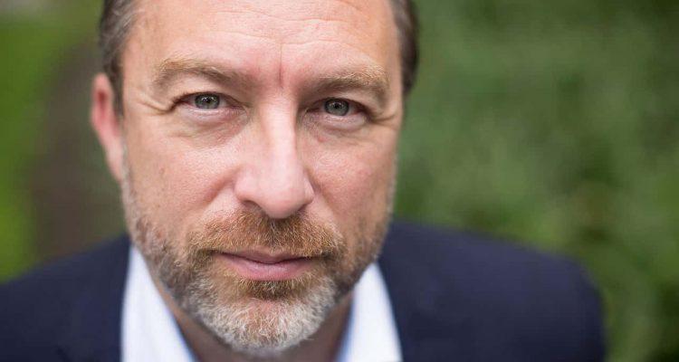 Photo of Wikipedia founder Jimmy Wales
