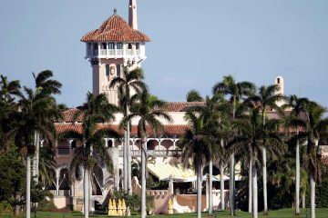 Photo of the Mar-a-Lago resort owned by President-elect Donald Trump in Palm Beach, Fla.