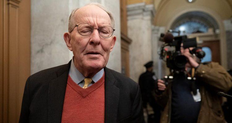 Photo of Republican Sen. Lamar Alexander of Tennessee