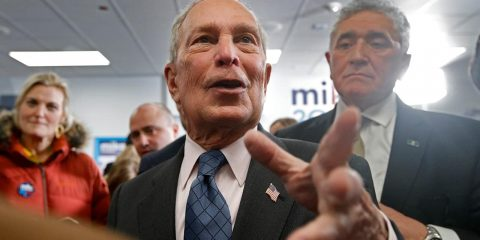 Photo of presidential candidate Michael Bloomberg