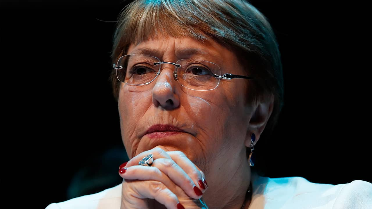 Photo of Michelle Bachelet, United Nations High Commissioner for Human Rights