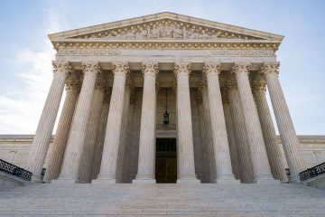 Photo of The Supreme Court in Washington
