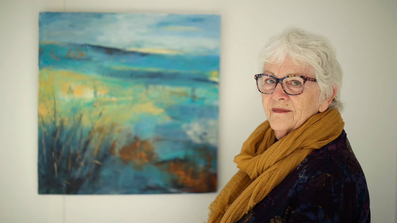 Photo of Elly Wright, a Dutch painter