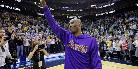Photo of Kobe Bryant in 2016