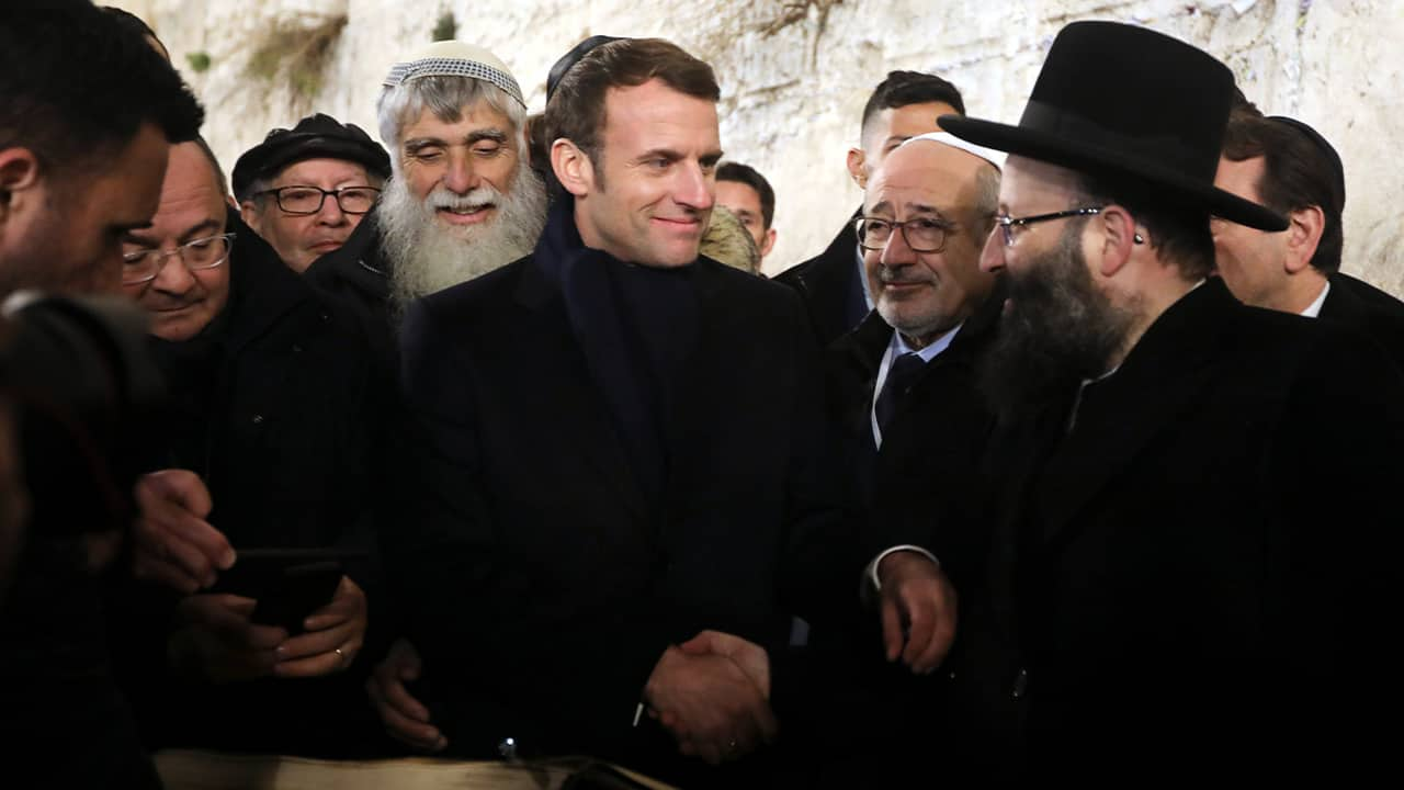 Photo of French President Emmanuel Macron