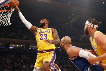 Photo of Los Angeles Lakers' LeBron James