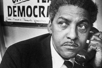 Photo of Bayard Rustin