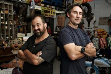 Photo of American Pickers, Frank Fritz and Mike Wolfe