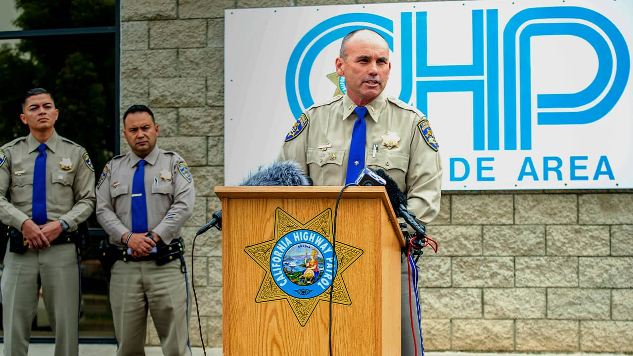 Photo of California Highway Patrol Lt. David Yokley