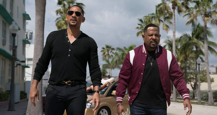 "Photo of Martin Lawrence, right, and Will Smith in a scene from ""Bad Boys for Life."""