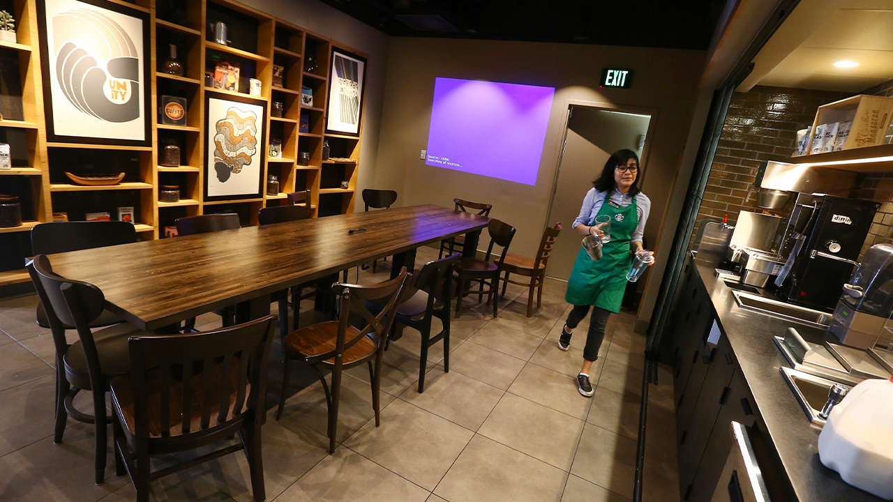 Photo of Belith Ariza, a barista trainer at Starbucks