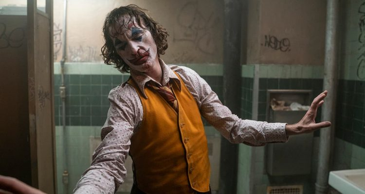 """Photo of Joaquin Phoenix in a scene from """"Joker"""""""