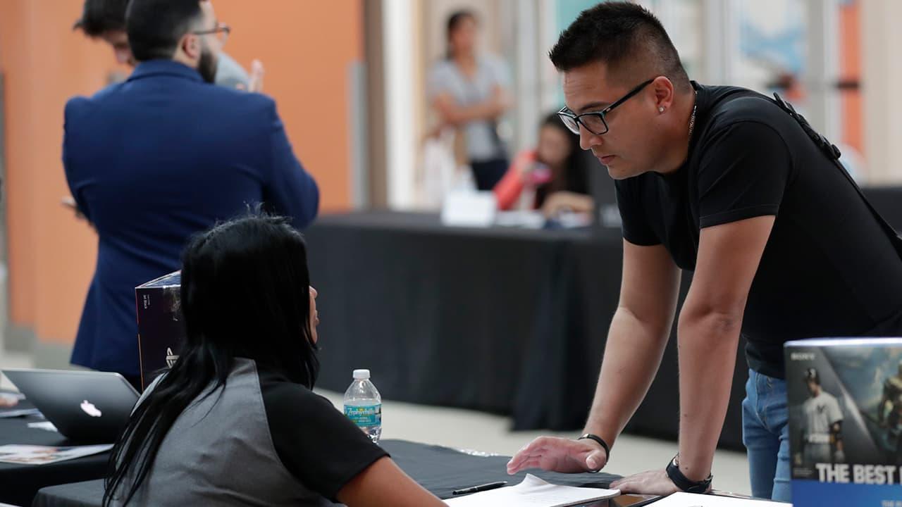 Photo of a job fair in Miami