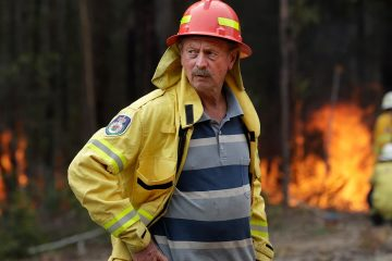 Photo of Doug Schutz, the Tomerong Rural Fire Service Captain