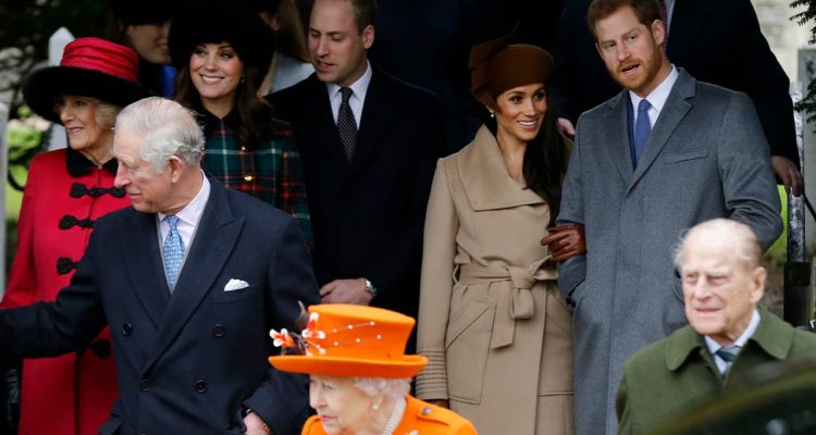Photo of the royal family after Christmas Day church service