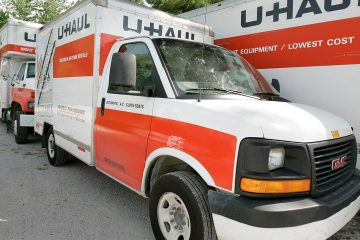 Photo of U-Haul moving truck