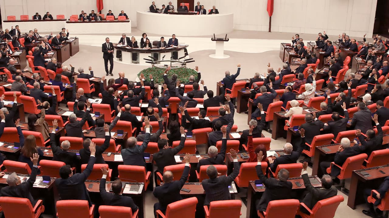 Photo of Members of Turkey's parliament