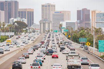 Photo of San Diego traffic