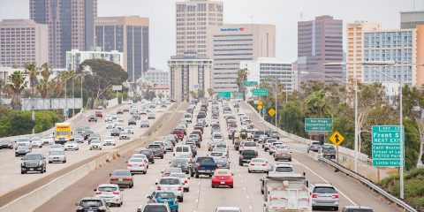 Photo of San Diego traffic