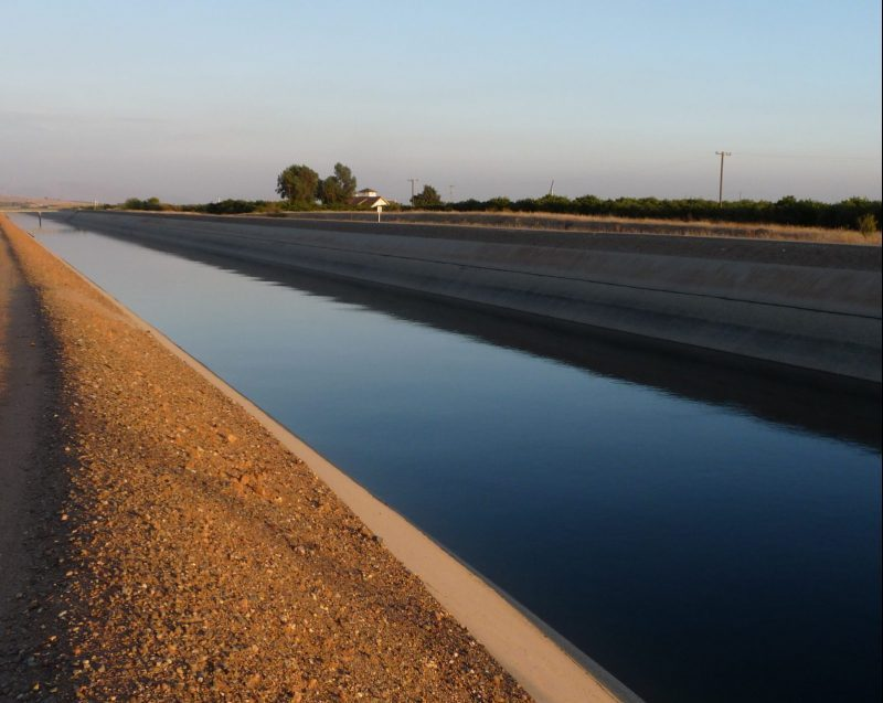 Picture of a canal in Madera County