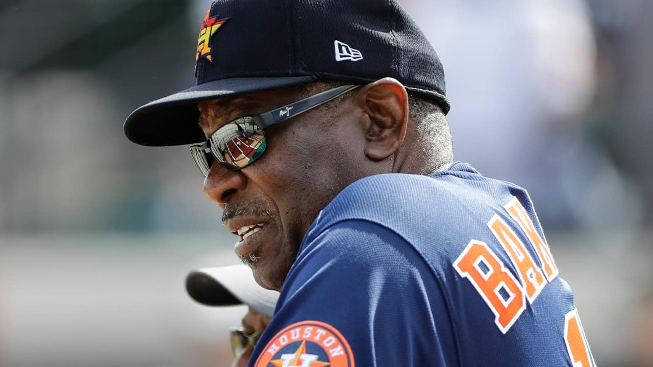 Photo of Houston Astros manager Dusty Baker