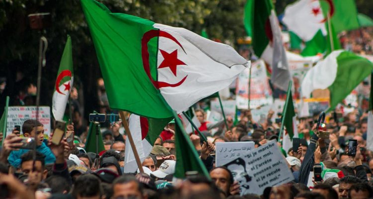 Photo of Algerian protests